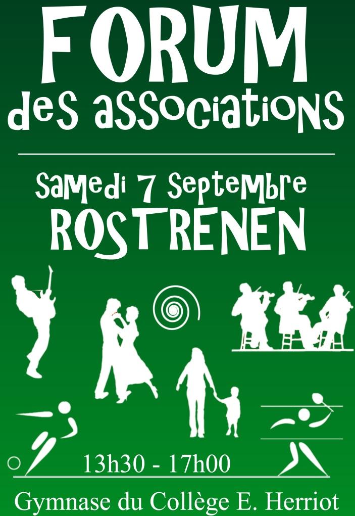 Forum des associations à Rostrenen